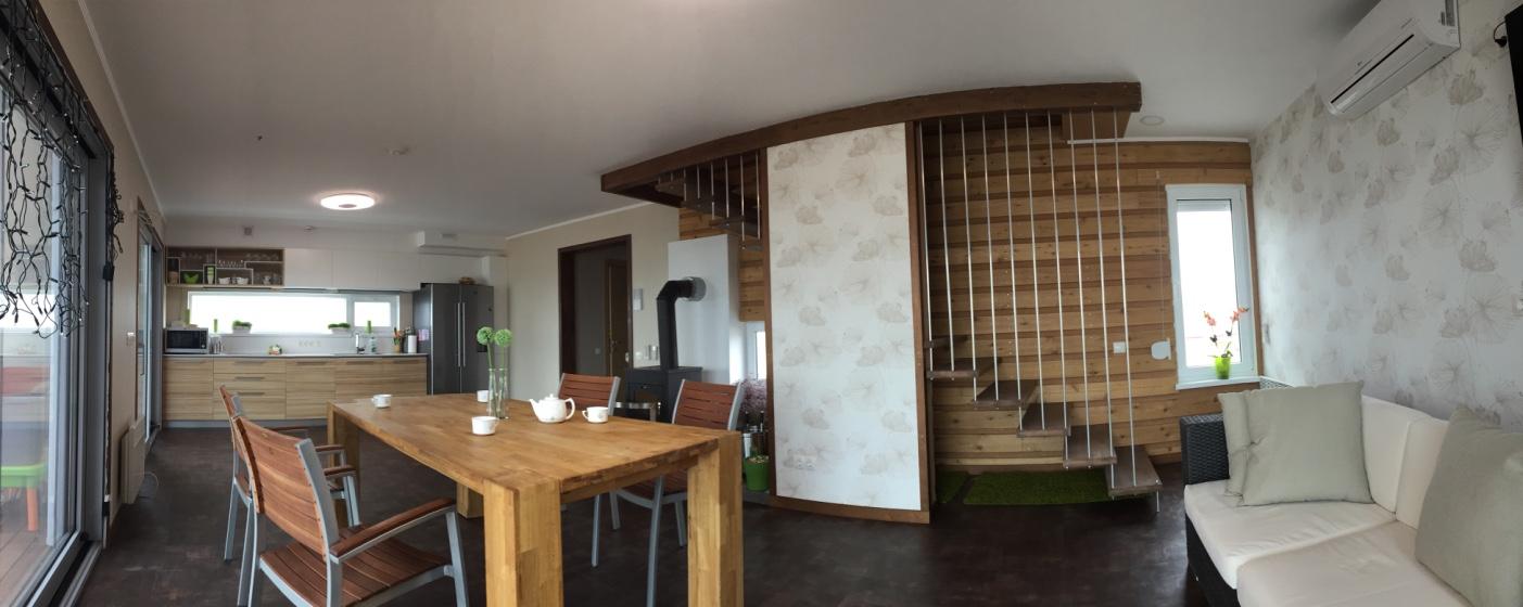 Стильный дом на острове Бирючий