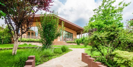 Дом на берегу Днепра в Запорожье