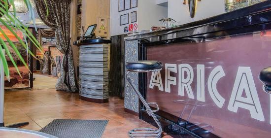 Кафе-бар «Африкана» в Запорожье