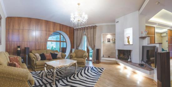 Современный дом в Бородинском районе