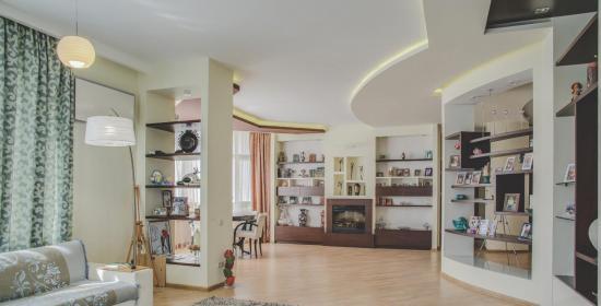 Двухуровневая квартира на улице Рижской в Запорожье