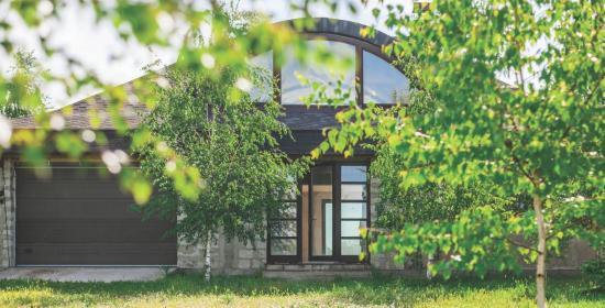 дом в селе Разумовка