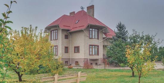 Загородный дом в пригороде Запорожья